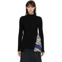 Sacai Black Alexander Girard Edition Print Sweater