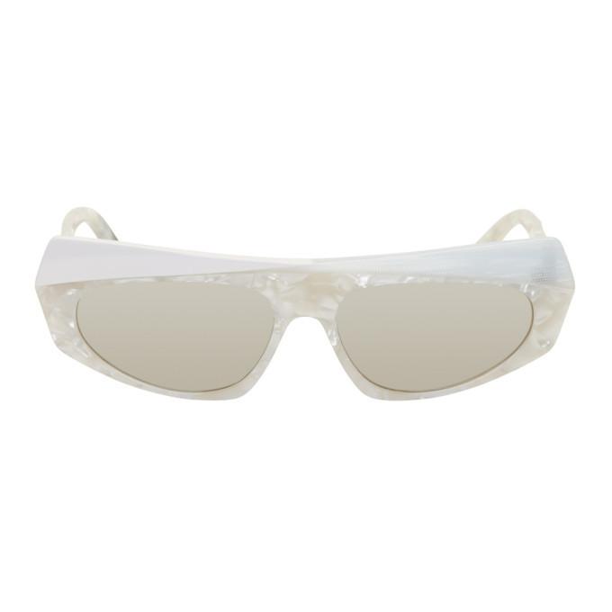 Photo: Alain Mikli Paris White Pose Sunglasses