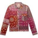 KAPITAL - Patchwork Bandana-Print Cotton-Blend Jacket - Pink