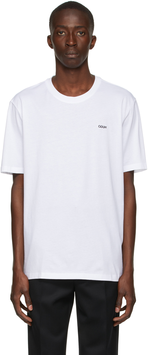 Hugo White Dero212 T-Shirt
