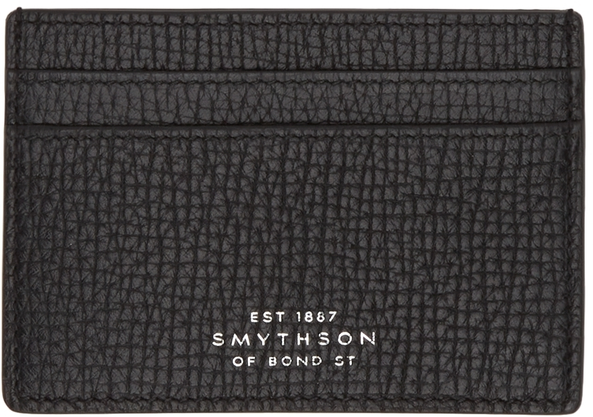 Photo: Smythson Black Ludlow Card Holder