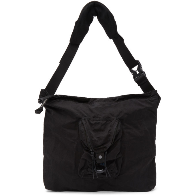 Photo: C.P. Company Black Nylon B Garment-Dyed Compact Bag