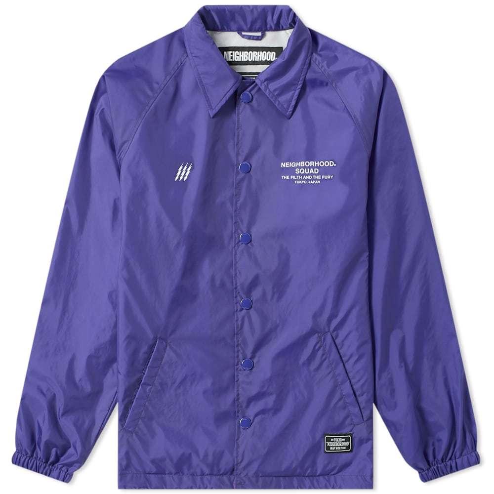 Photo: Neighborhood Brooks Jacket Purple