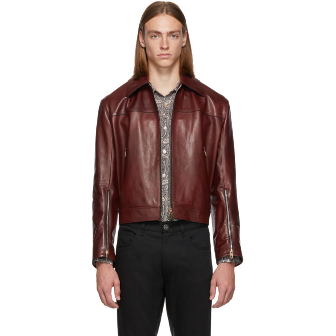 Photo: Paul Smith Red Leather Jacket