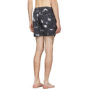 Ksubi Black Starz Swim Shorts