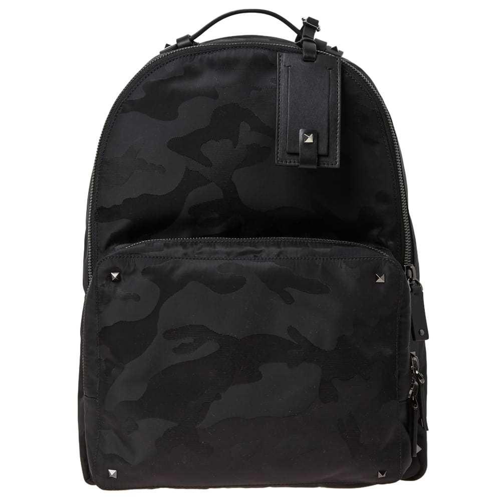 Photo: Valentino Nylon Jaquard Camo Backpack