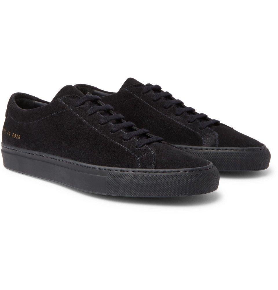 Photo: Common Projects - Original Achilles Suede Sneakers - Men - Navy