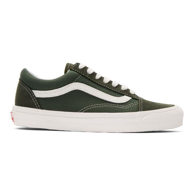 Photo: Vans Green OG Old Skool LX Sneakers