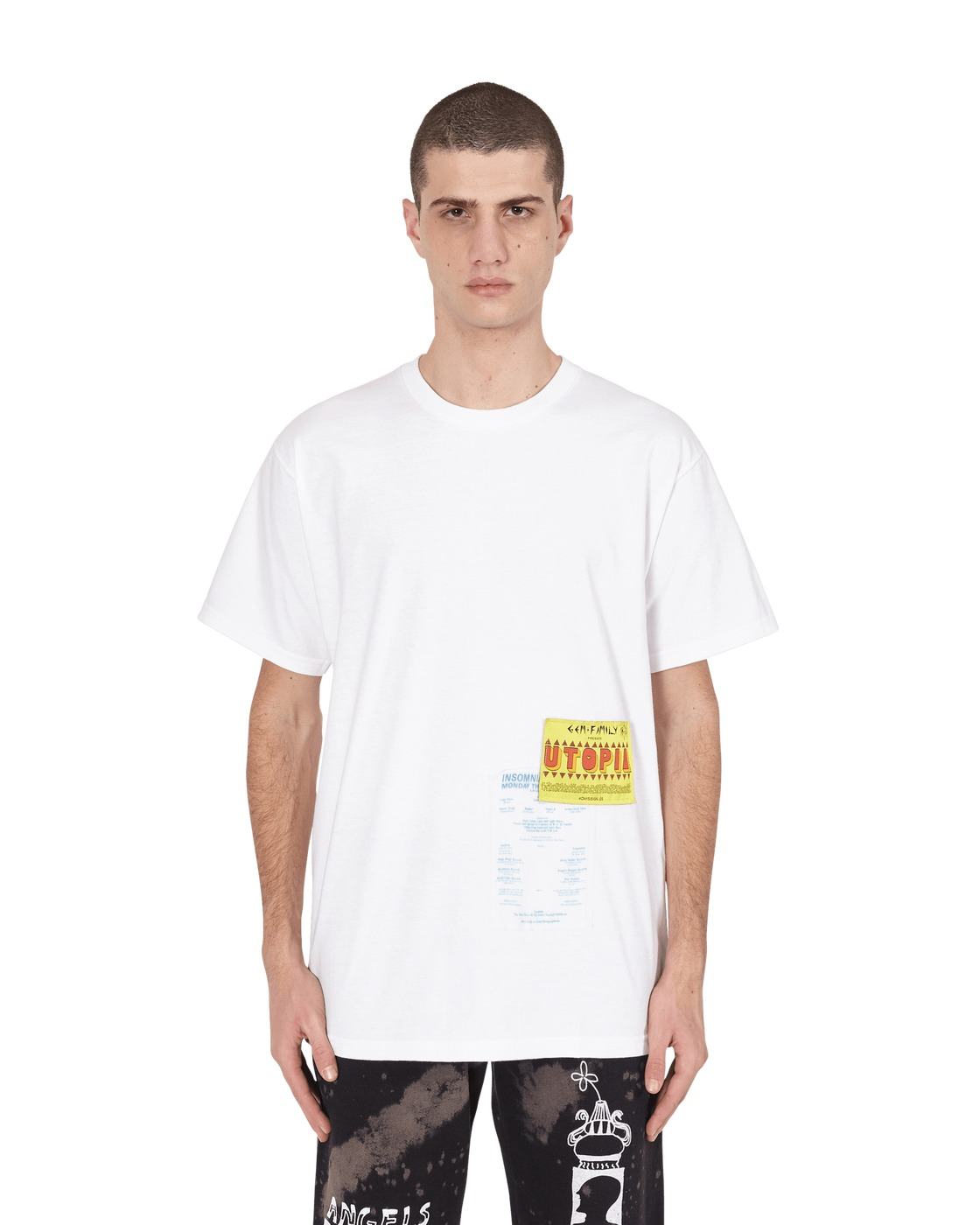 Martine Rose Slam Jam T Shirt White