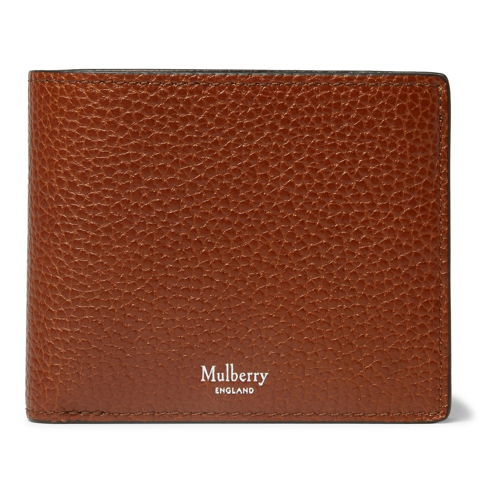 Photo: Mulberry - Full-Grain Leather Billfold Wallet - Brown