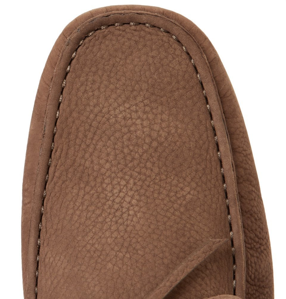 Tod's - Gommino Full-Grain Leather Driving Shoes - Light brown