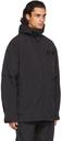 MCQ Black Flash Drawstring Jacket