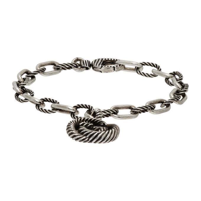 Photo: Gucci Silver Interlocking G Bracelet