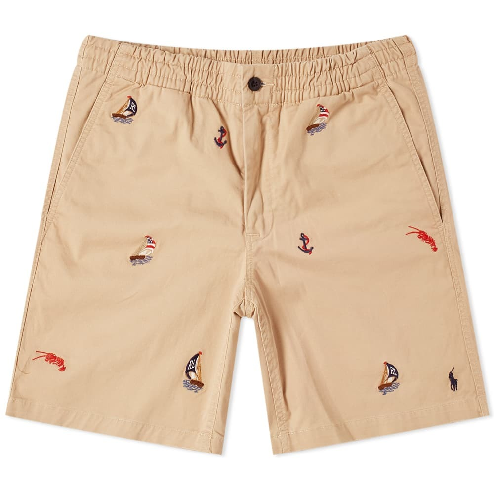 Photo: Polo Ralph Lauren Embroidered Chino Short
