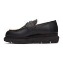 Sacai Black Double Loafers