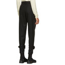 Sacai Black Melton Wool Trousers