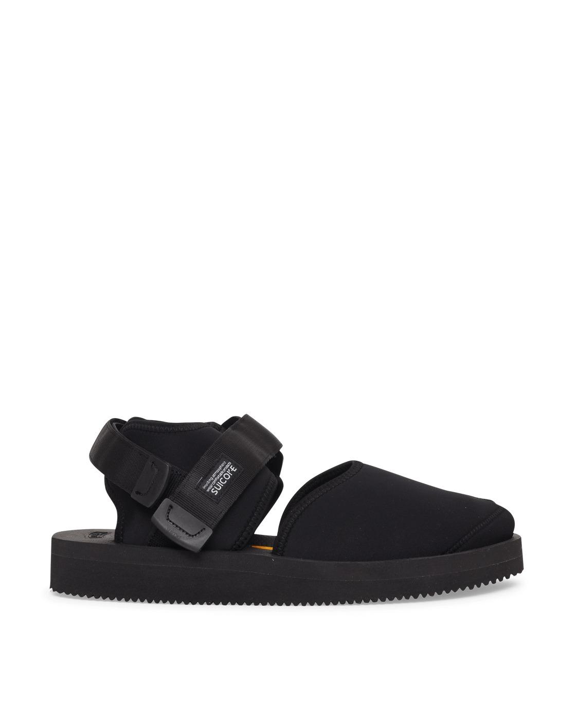 Photo: Suicoke Bita V Sandals Black