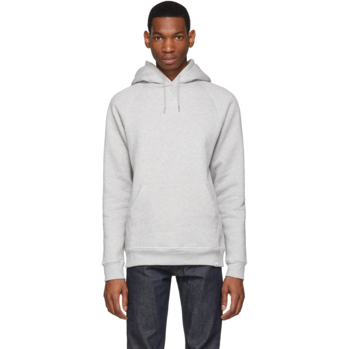Photo: Norse Projects Grey Ketel Classic Hoodie