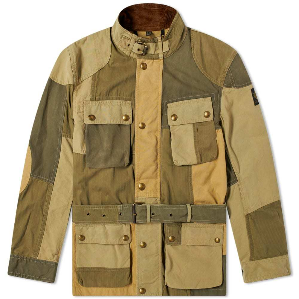 Photo: Belstaff Patchwork Trialmaster Jacket