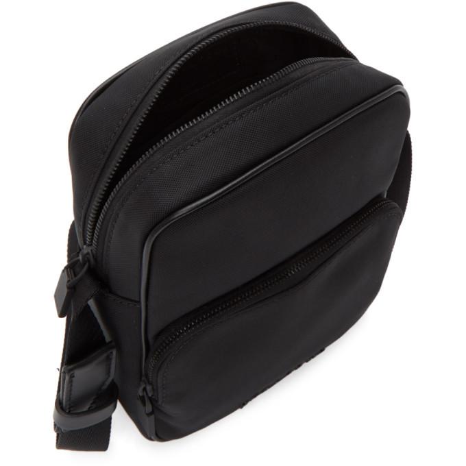 1017 ALYX 9SM Black Canvas Vertical Camera Bag