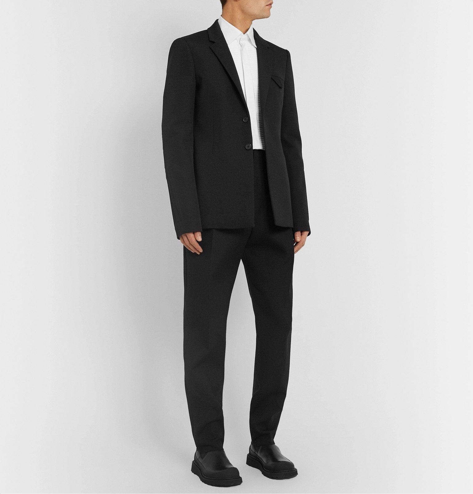Bottega Veneta - Black Wool Blazer - Black