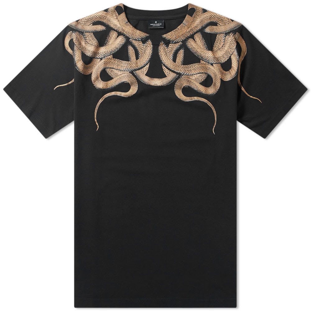 Photo: Marcelo Burlon Snakes Shoulder Tee