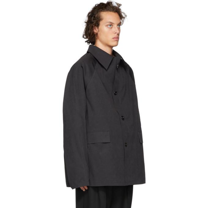 Kassl Editions Blue Short Coat