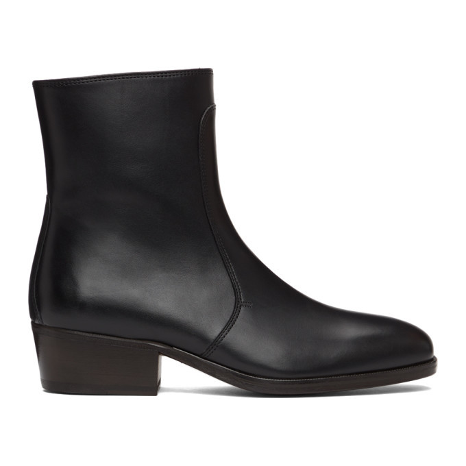 Photo: Lemaire Black Zipped Boots
