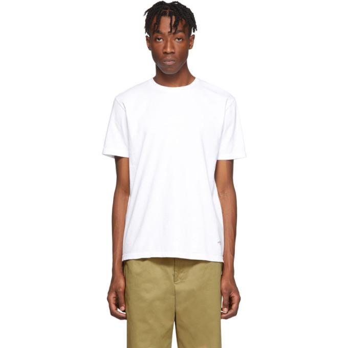 Photo: Noah NYC White Recycled Cotton T-Shirt