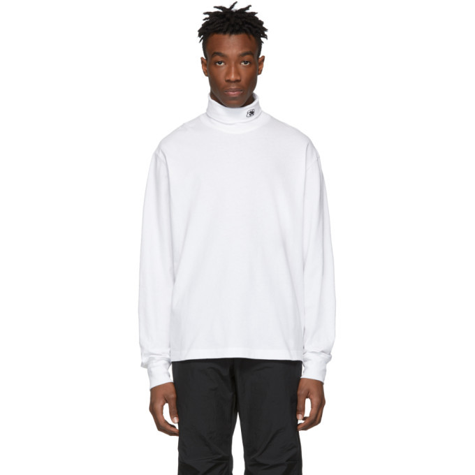 Photo: Alexander Wang White High Twist Turtleneck