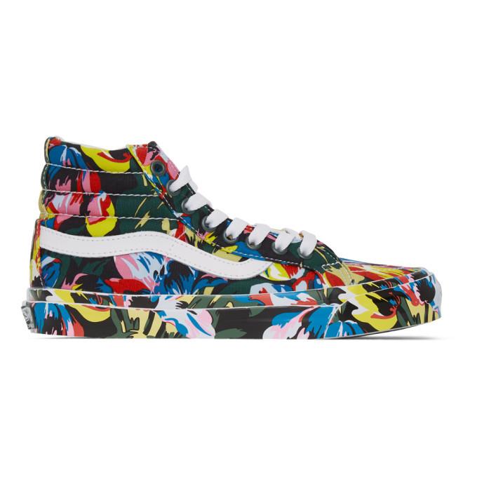 Photo: Kenzo Multicolor Vans Edition OG Sk8-Hi LX Sneakers