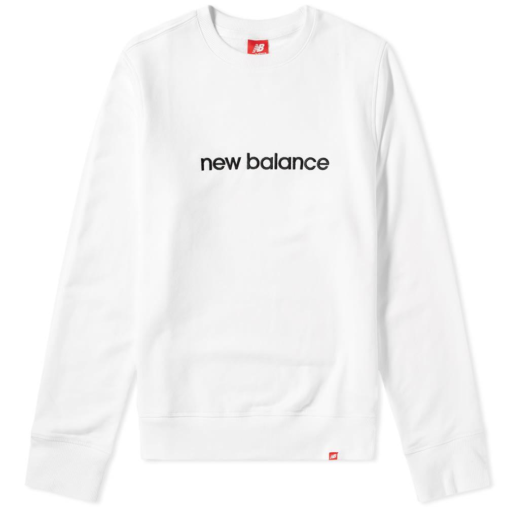 Photo: New Balance 90s Essentials Sweat White