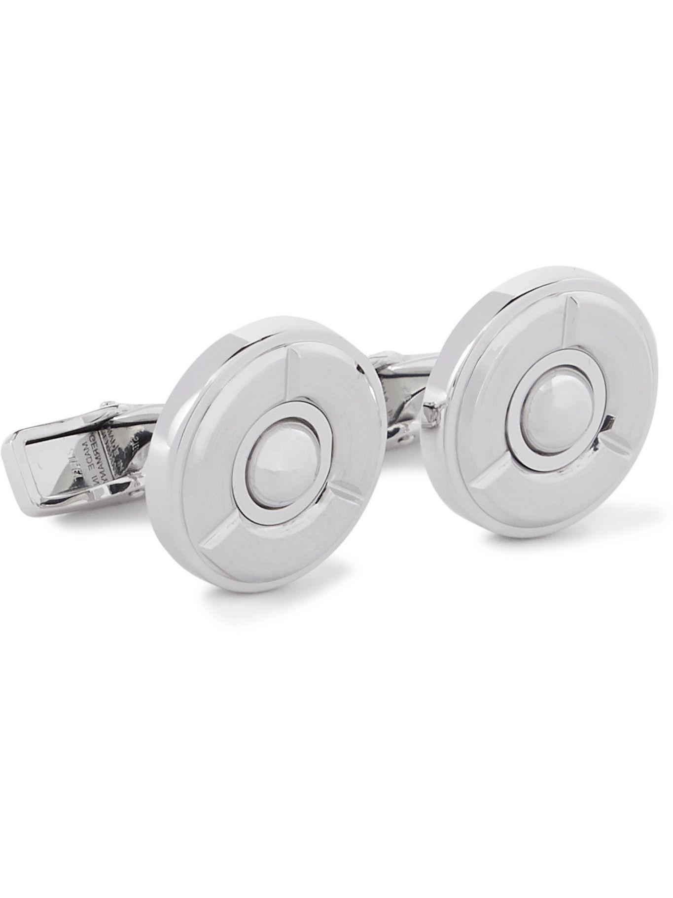 Photo: Dunhill - Stainless Steel Cufflinks