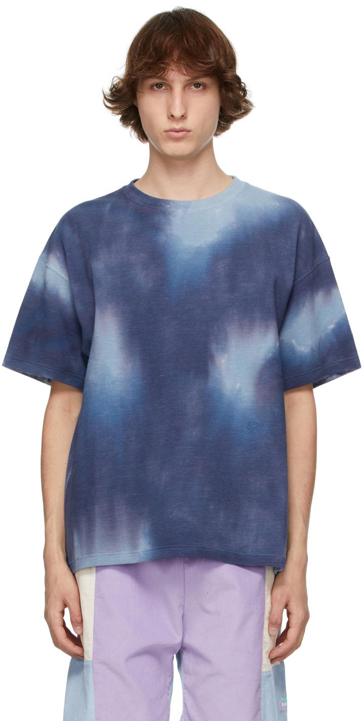 Photo: Schnayderman's Blue Tie-Dye T-Shirt