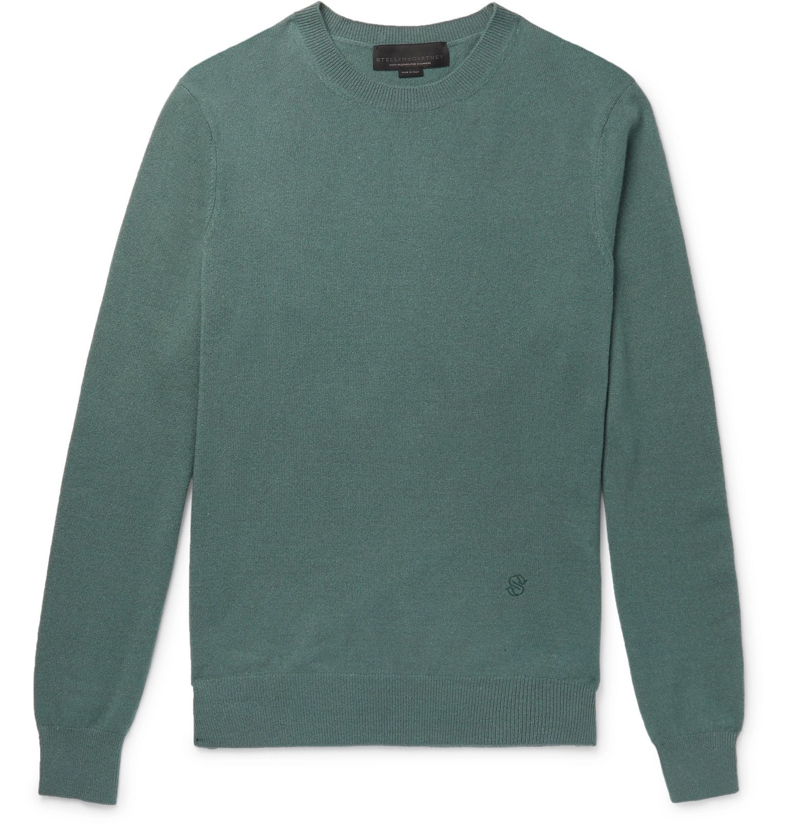 Stella McCartney - Cashmere and Wool-Blend Sweater - Green