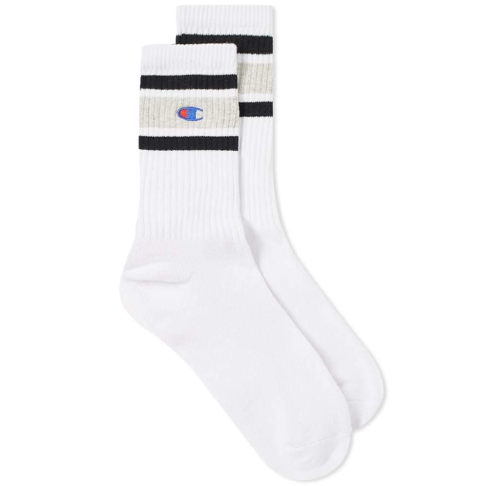 Photo: Champion Reverse Weave Colour Block Sock