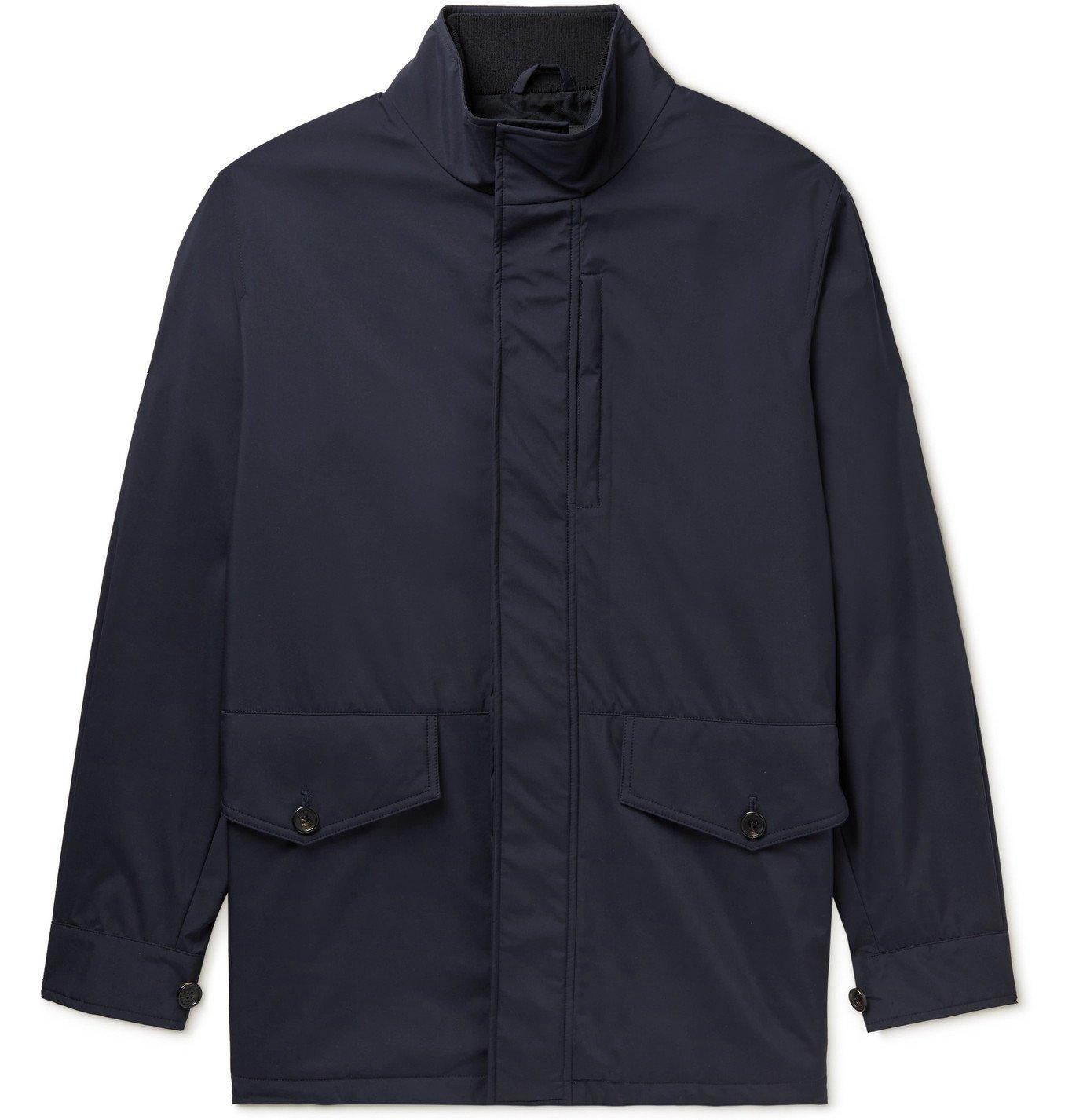 DUNHILL - Shell Jacket - Blue
