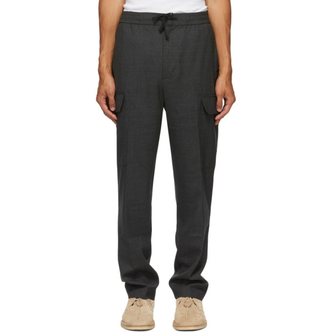 Photo: Officine Generale Grey Geron Cargo Pants