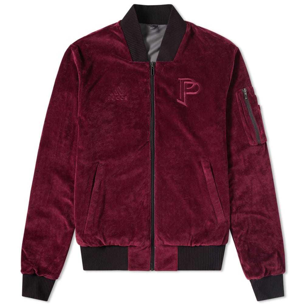 Adidas x Paul Pogba Tango Reversible Jacket Burgundy