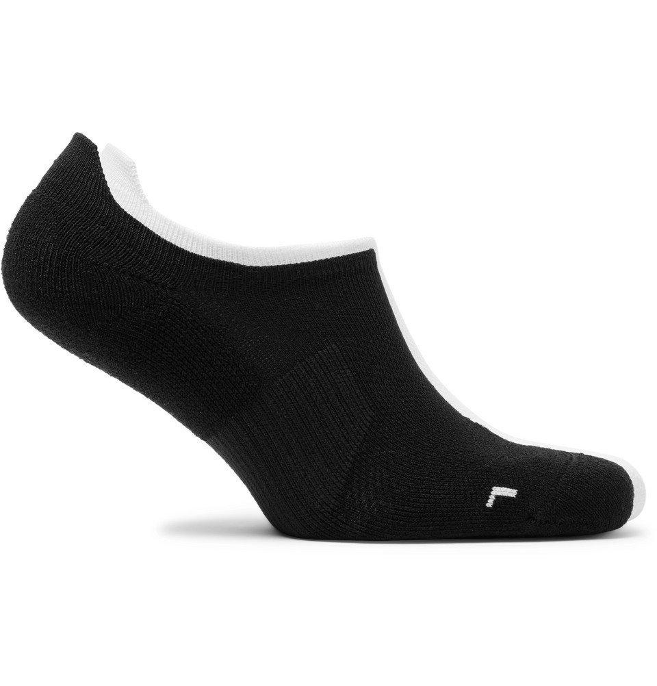 Nike Running - Two-Pack Multiplier Dri-FIT No-Show Socks - Black
