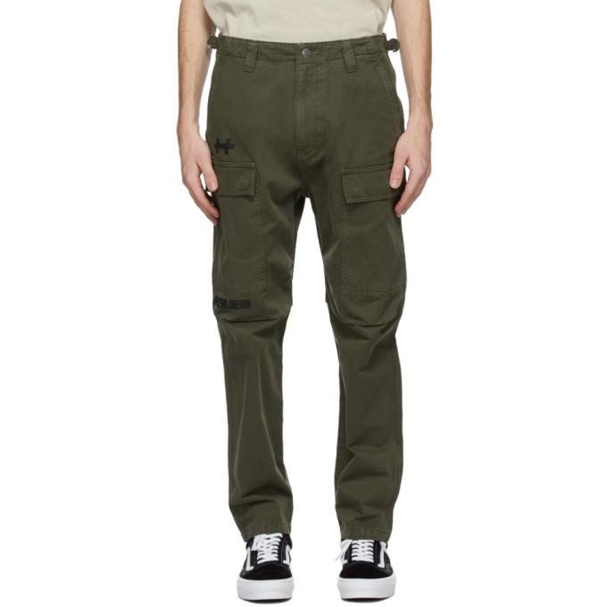 Ksubi Green Korrupted Cargo Pants
