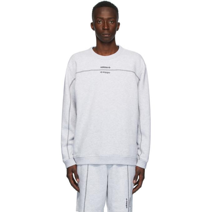 Photo: adidas Originals Grey Crew Sweatshirt
