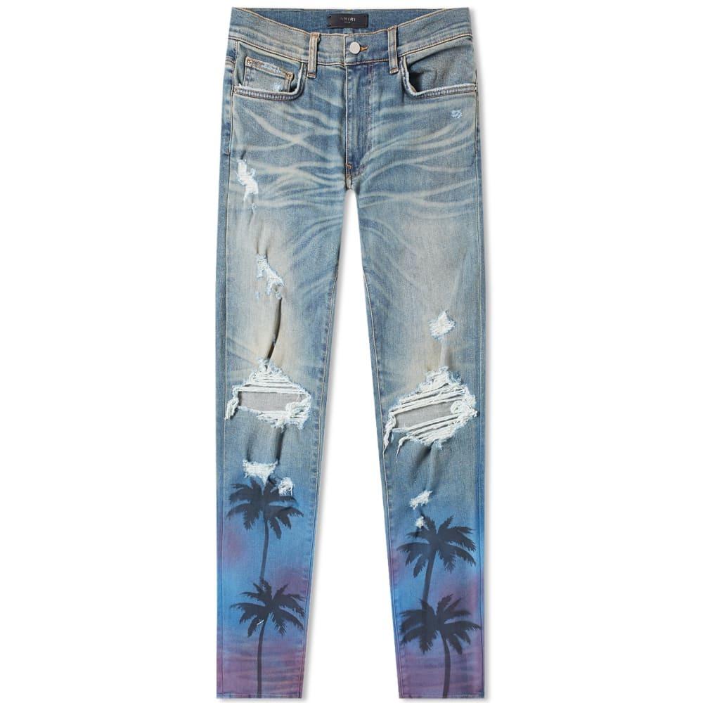 Photo: Amiri Night Palm Thrasher Jean