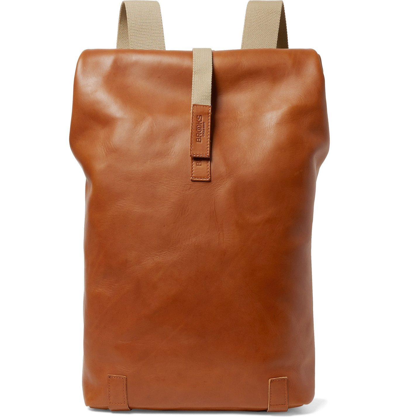 Photo: Brooks England - Pickwick Large Leather Backpack - Brown