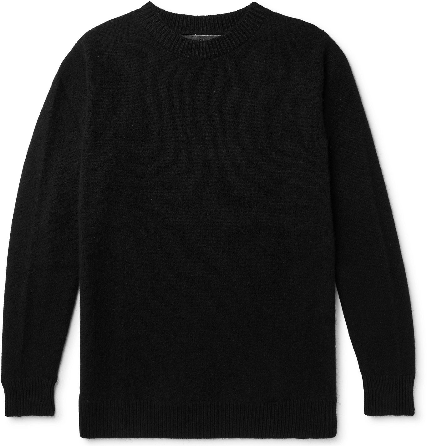 Photo: The Elder Statesman - Cashmere Sweater - Black