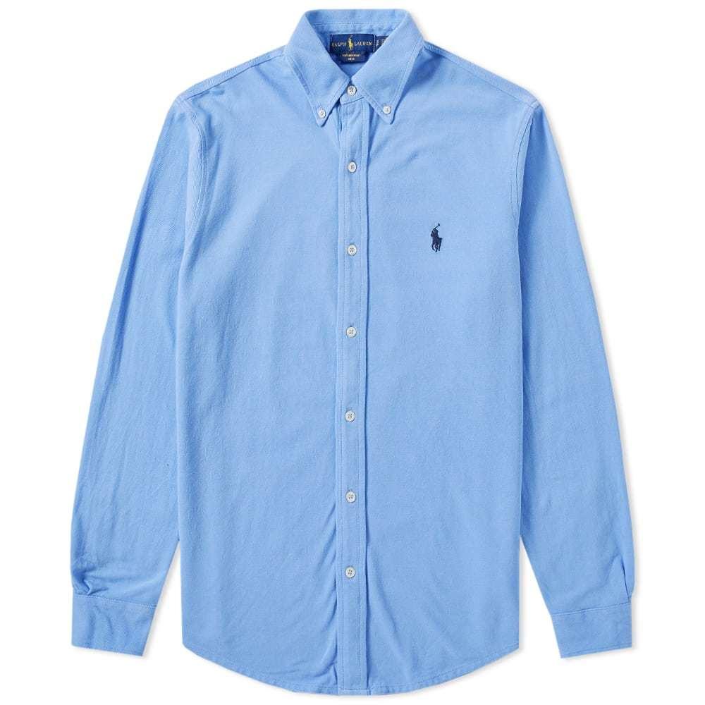 Photo: Polo Ralph Lauren Pique Button Down Shirt