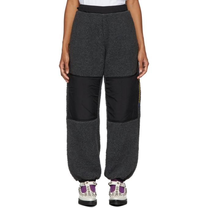 Aries Grey Fleece Track Pants