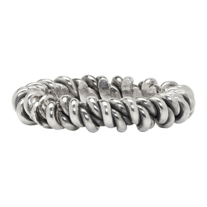 Photo: Ugo Cacciatori Silver Torcetto Ring