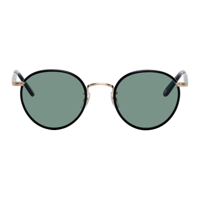 Photo: Garrett Leight Black Wilson Sunglasses