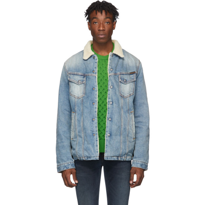 Photo: Nudie Jeans Blue Denim Lenny Jacket